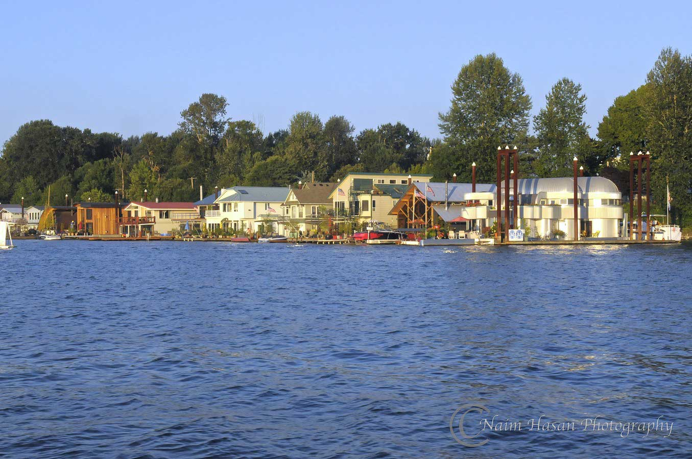 Portland floating home communities Floating homes portland